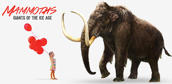 Visit Mammoths! Giants of the Ice Age